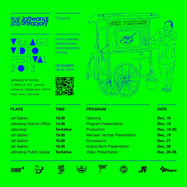 VVF 2013 - Curi Pandang Schedule